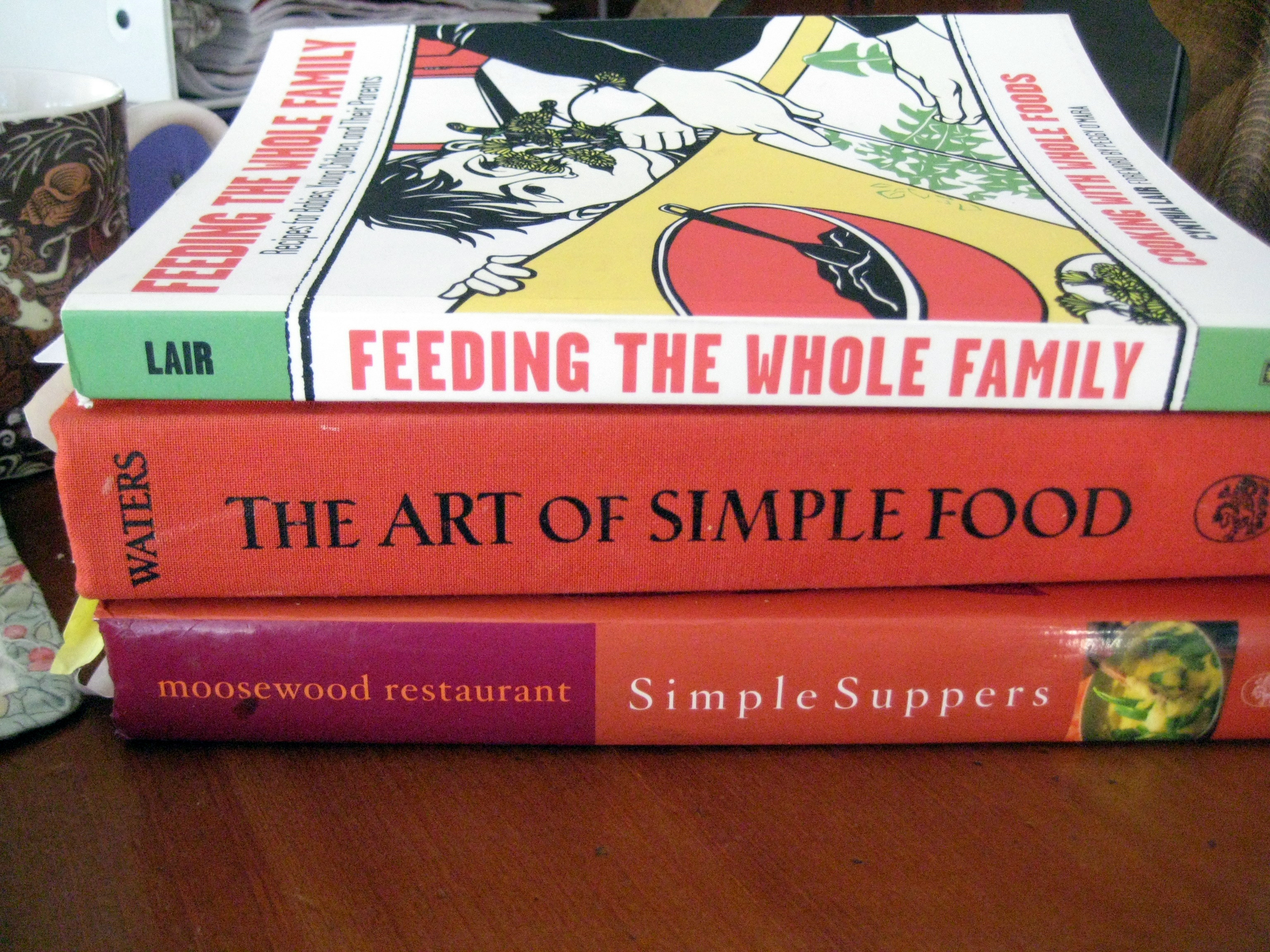 meal planning and cookbooks