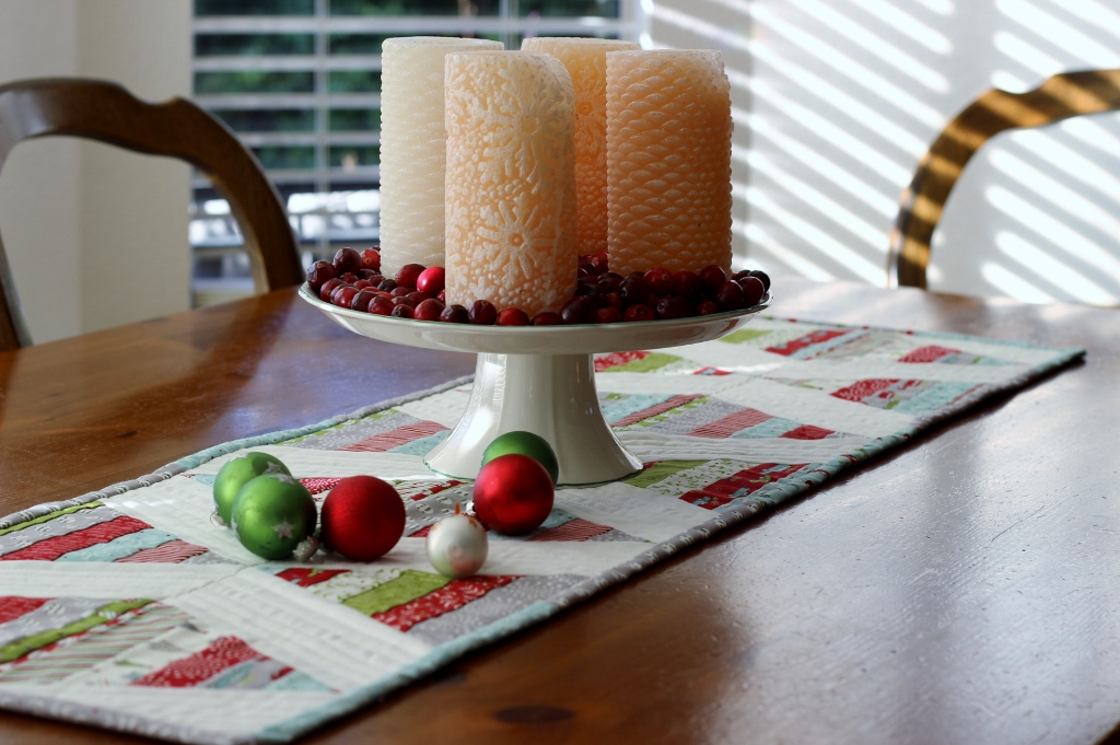 scrappy table runner tutorial
