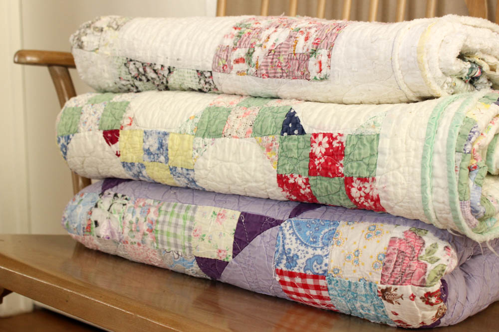 these actually are your grandmother's quilts