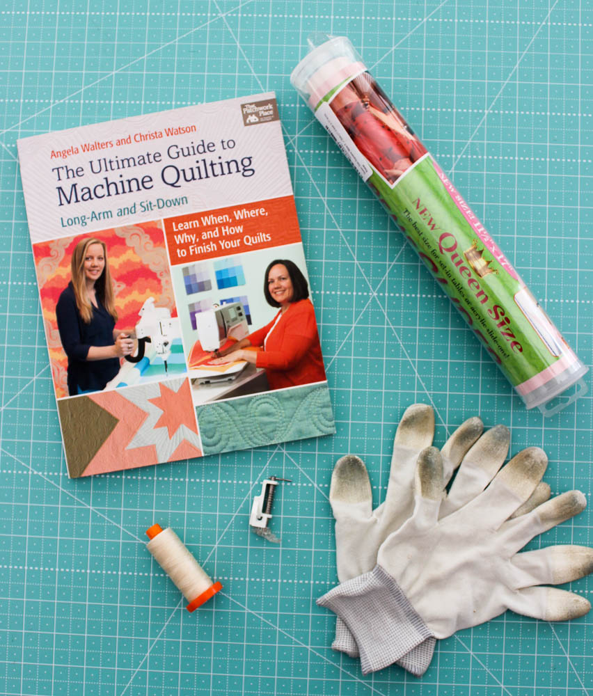 Ultimate guide to machine quilting book