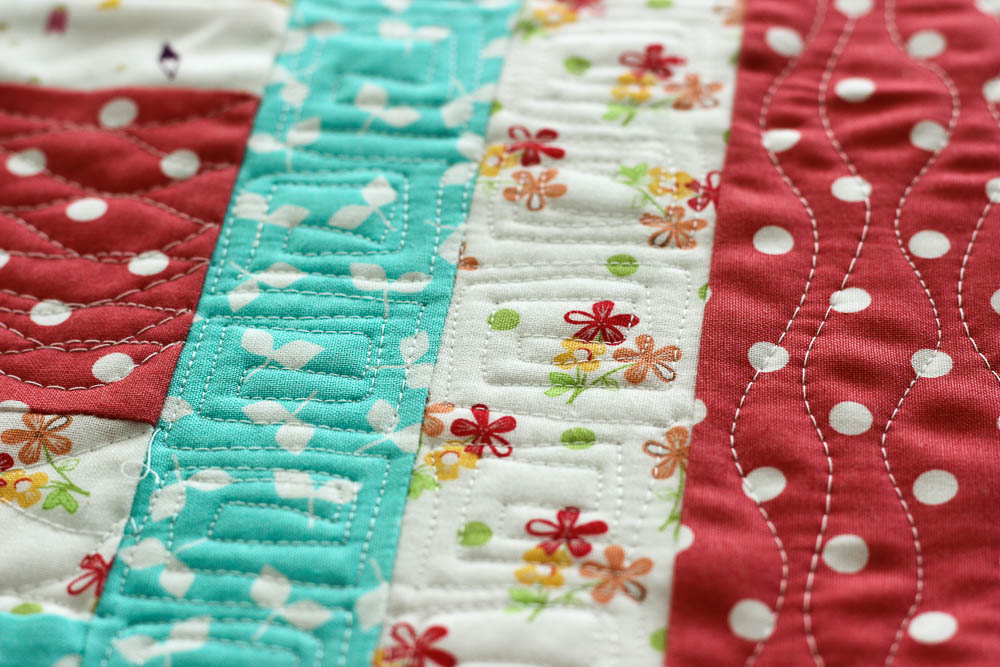 How to Break Up a Quilt into Small Sections for Quilting