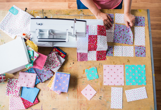 Startup Library Quilting Class from Craftsy by Christa Watson