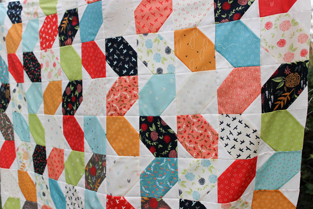 Piece and Quilt Hop Along {week 2}