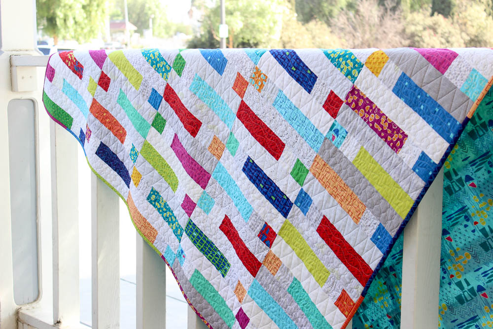 Piece and Quilt Hop Along Giveaway + Finished Quilt