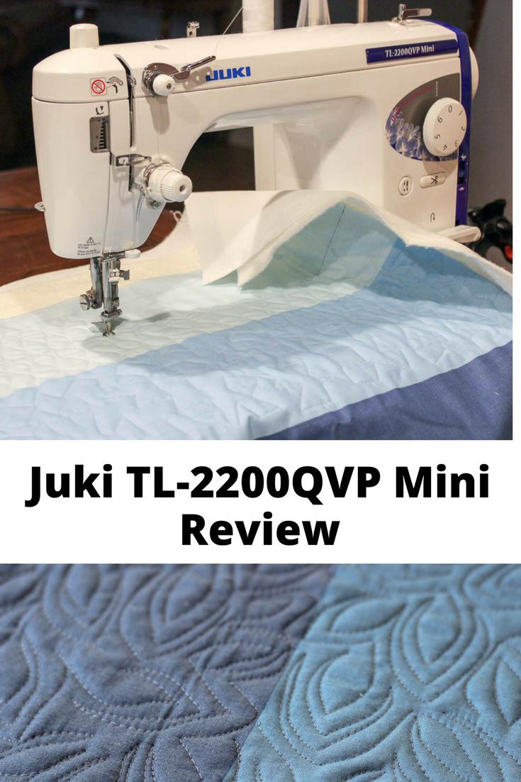 Review of Juki 2200QVP Mini sewing machine
