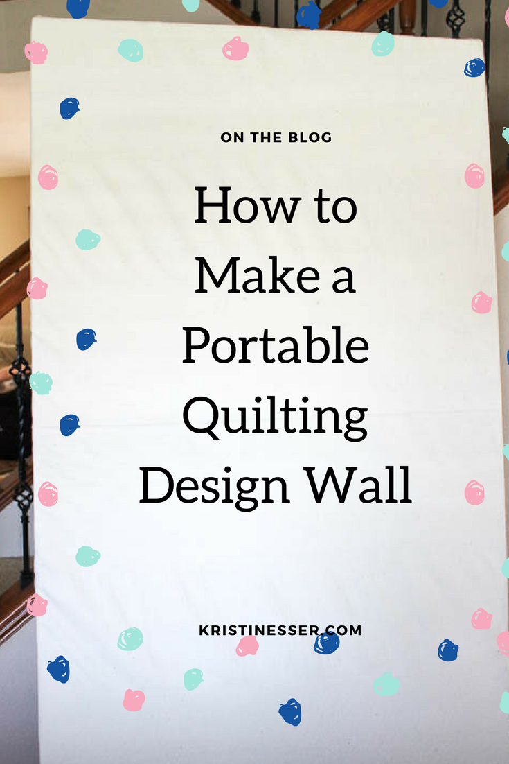 How to Make a Portable Design Wall