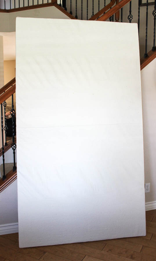 How to make a design wall from insulation board