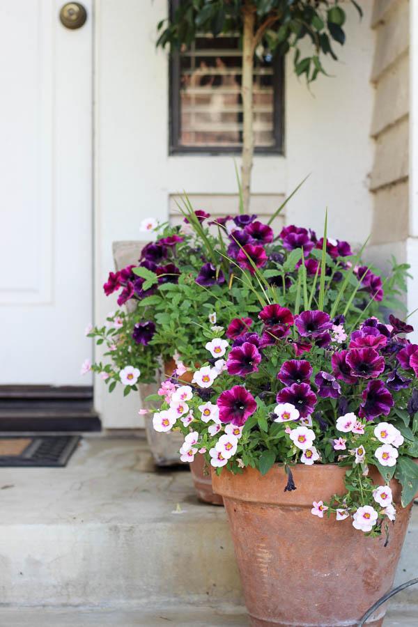 Springtime porch kristinesser.com