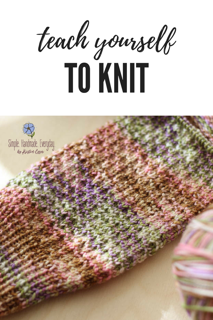 5 great resources to teach yourself to knit