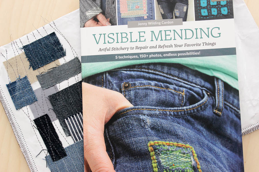Visible Mending book review on Simple Handmade Everyday | kristinesser.com