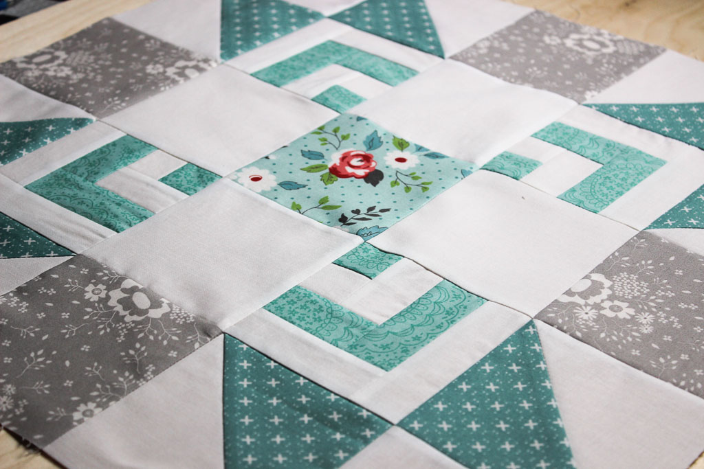 Moda Bakeshop Summer Quilt Along | Center Block