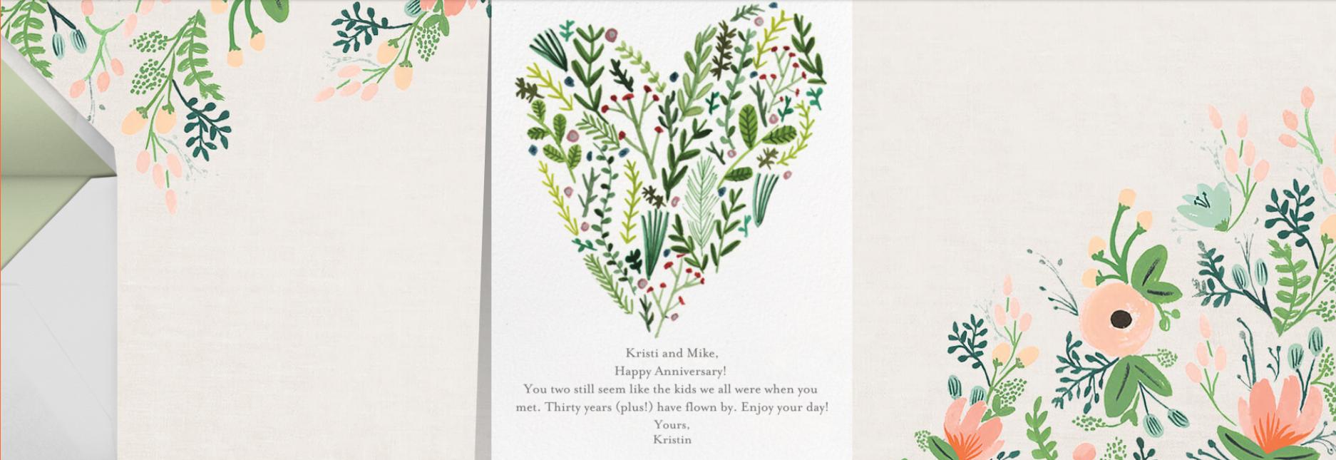 Paperless Post card | kristinesser.com