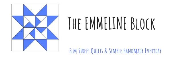 Hand Pieced QAL: Emmeline Block (Week 9)