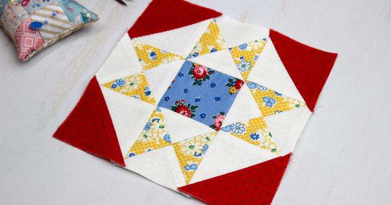 Hand Pieced QAL: Dorothy Block (Block 5)