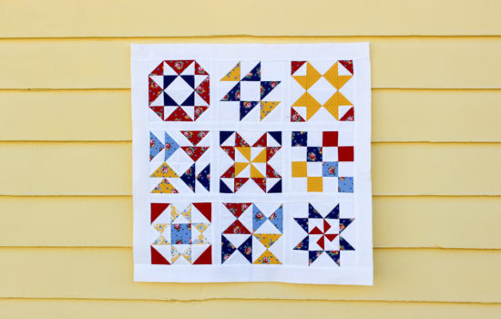 Hand Pieced QAL: Quilt Reveal and Kick off!