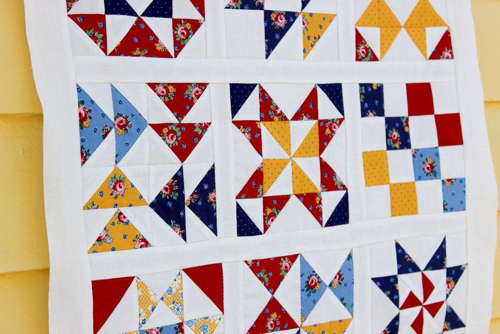 Hand Pieced QAL: Sashing and Quilt Top Assembly