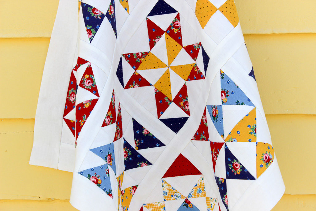 Hand Pieced QAL: Quilt Reveal!
