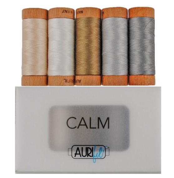 Calm thread box by Aurifil