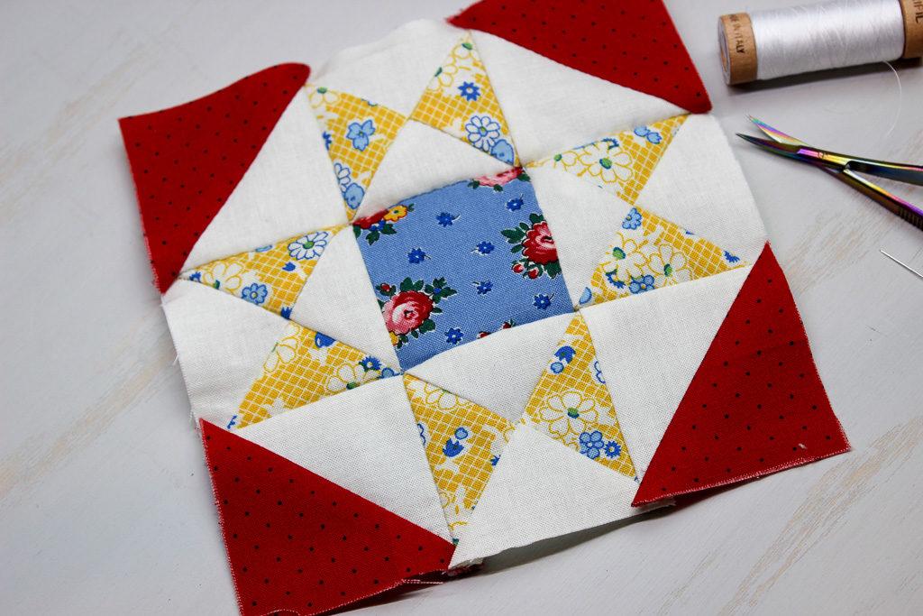 Hand Pieced QAL: Dorothy Block (Week 7)/Ohio Star quilt block