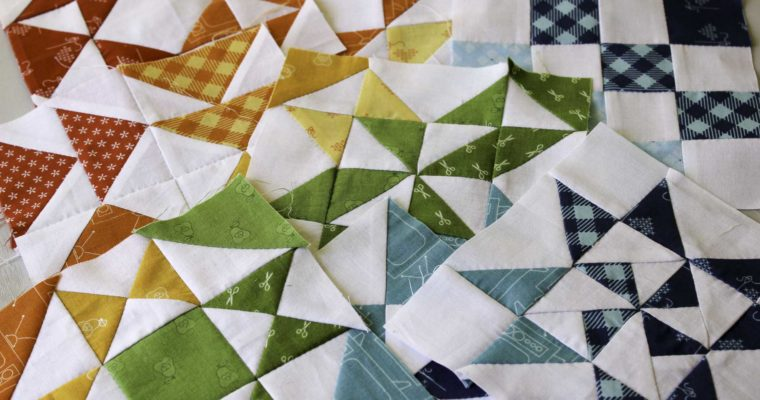 Hand Pieced QAL: A Rainbow Quilt