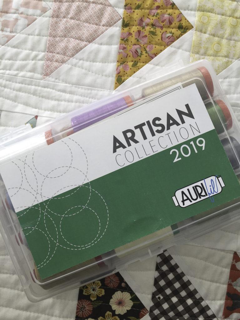Aurifil Artisan 2019 thread pack