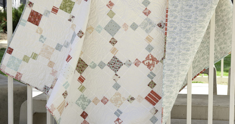 Loyal Heights Irish Chain Quilt: A Free Pattern