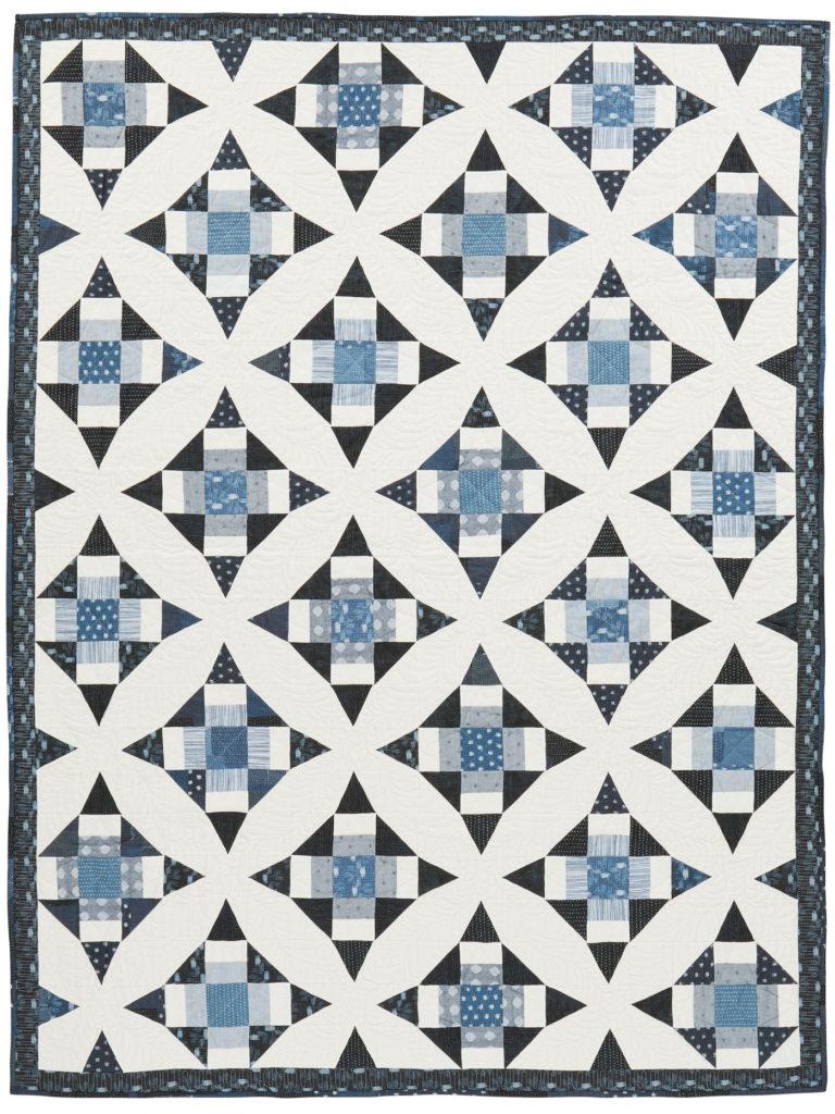 Indigo Illusion quilt