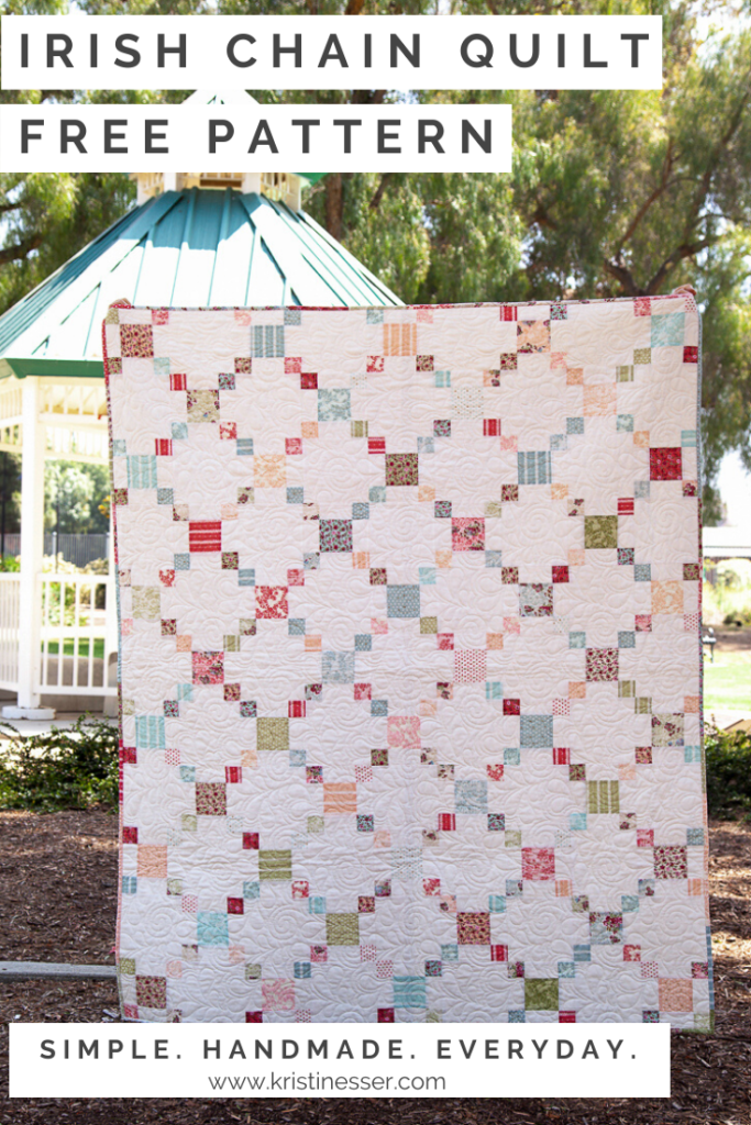 Irish Chain Quilt Free Pattern