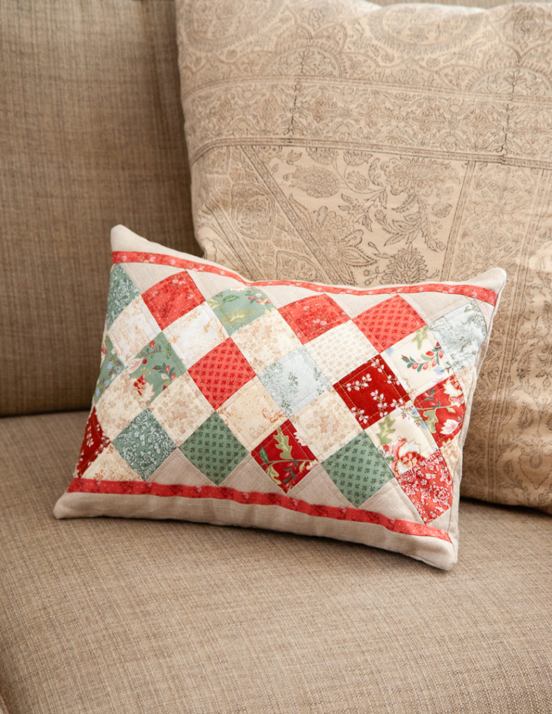 Madame Fleur pillow by Kristin Esser of Simple Handmade Everyday