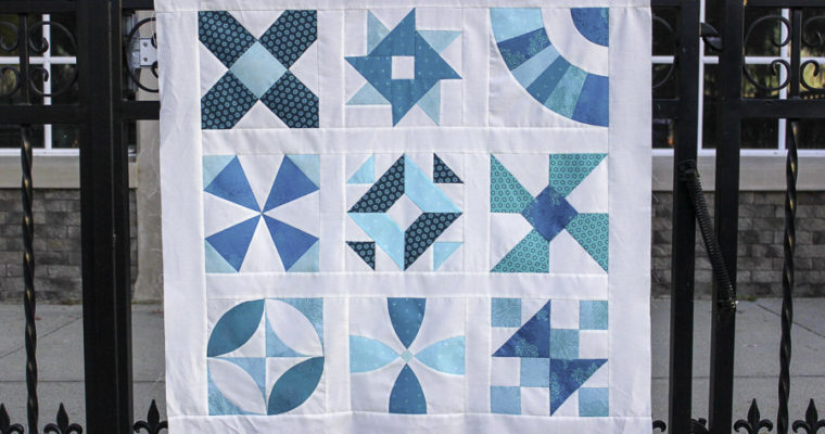 Book Club: A Hand Pieced Quilt Along Pattern is Now Available!