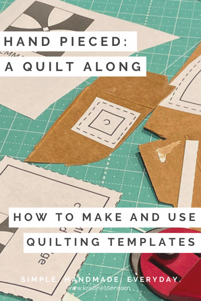 How to make and use quilting templates