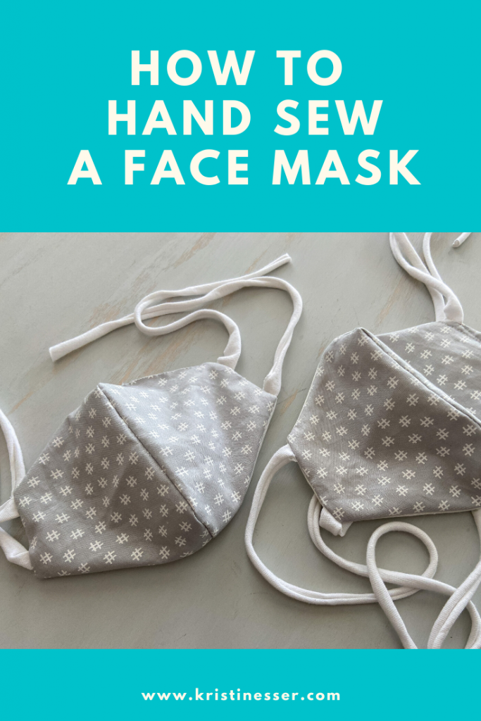 How to Hand Sew a Face Mask