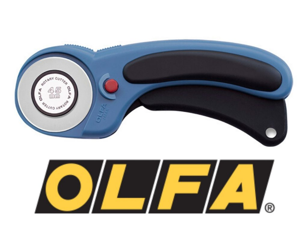 Olfa ergonomic splash rotary cutter